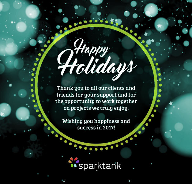 Happy Holidays from Sparktank Franchise Marketing