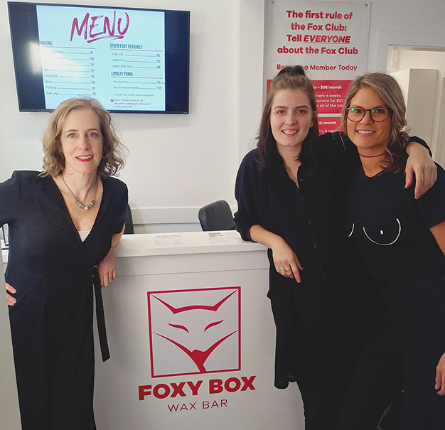 Grand opening of Foxy Box franchise location